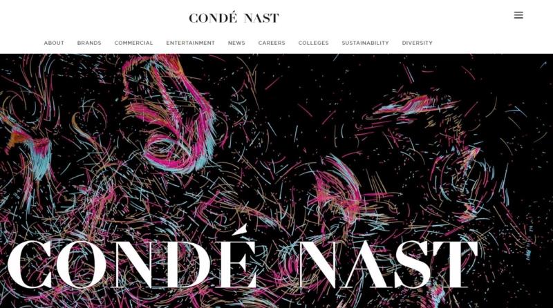 condenast Best Websign Design