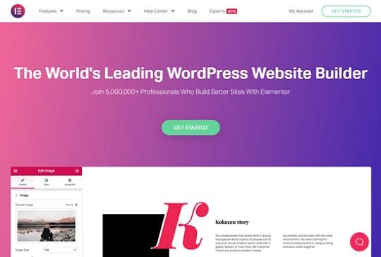 Elementor Plugin for WordPress