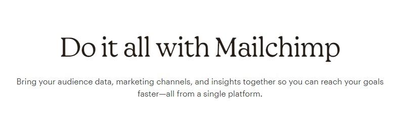 Screenshot of MailChimp Coming Soon