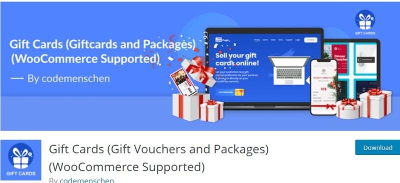 Gift Card WordPress Plugin